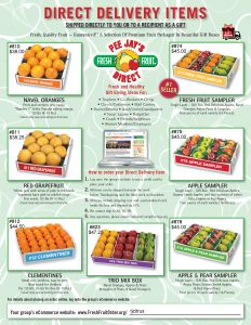 2020 Fall TJ Bands Fruit Sale 2